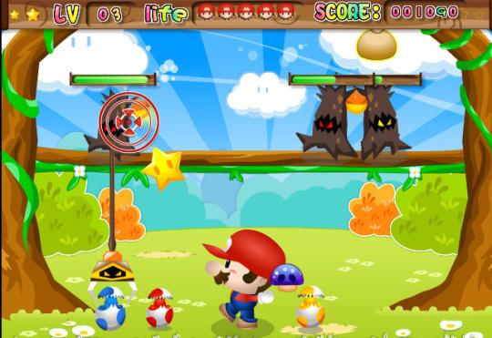 Mario vs Monsters