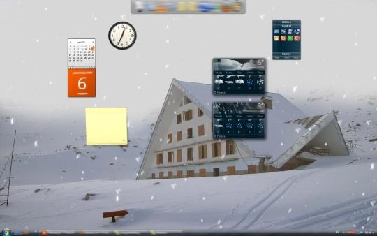 Marto Desktop Snow