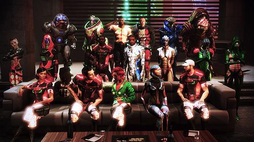 Mass Effect 3 Ugly Christmas Sweater Mod