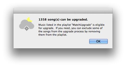 MatchUpgrade