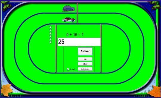 Math Car Racer