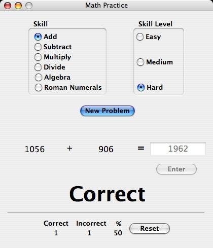 Math Practice
