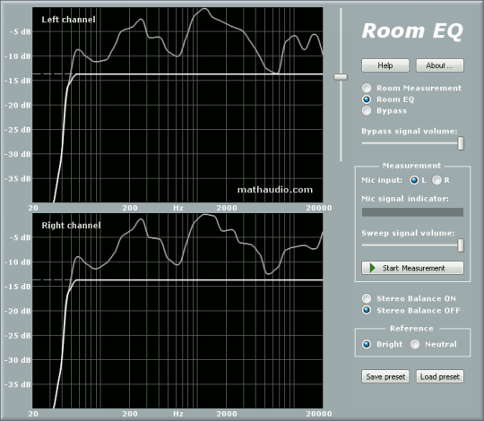 MathAudio Room EQ for Foobar2000