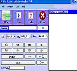 Matrices Calculator