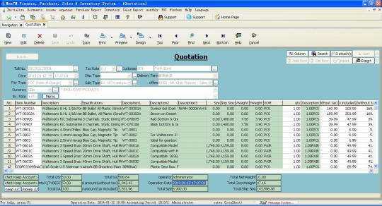 Max Finance, Purchase, Selling and Inventory System for Unicode