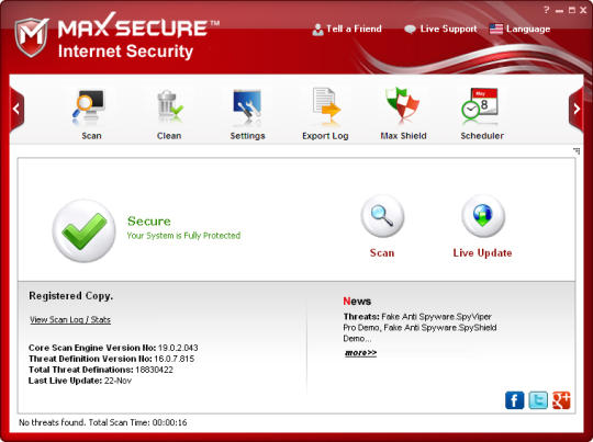 Max Secure Internet Security Max Secure Internet Security