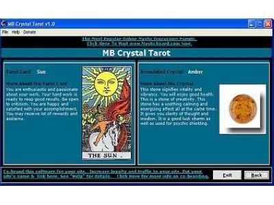 MB Crystal Tarot