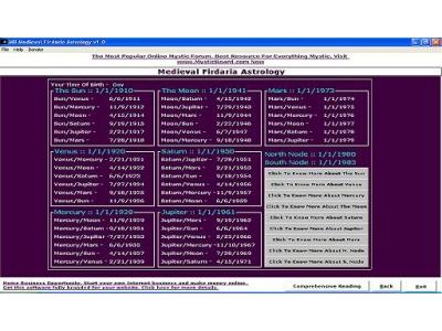 MB Medieval Firdaria Astrology