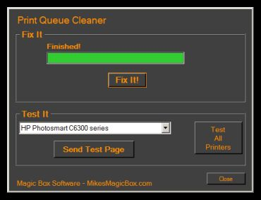 MBS Print Queue Cleaner