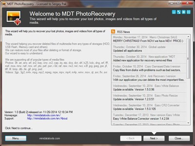 MDT PhotoRecovery