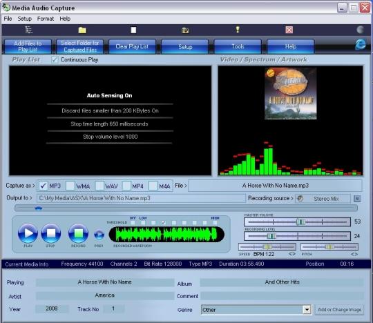 Media Audio Capture
