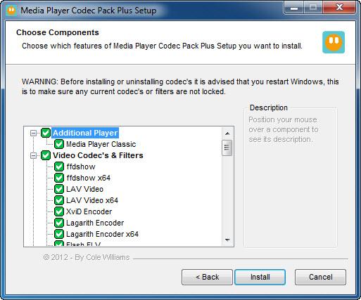 Media Player Codec Pack Plus
