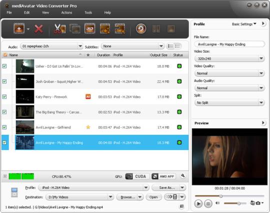 MediAvatar Video Converter Pro