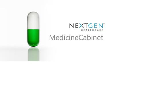 MedicineCabinet for Windows 8
