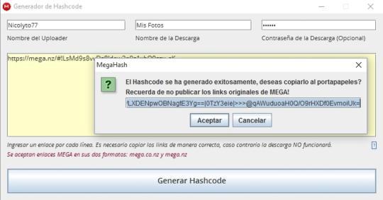 MegaHash (Spanish)