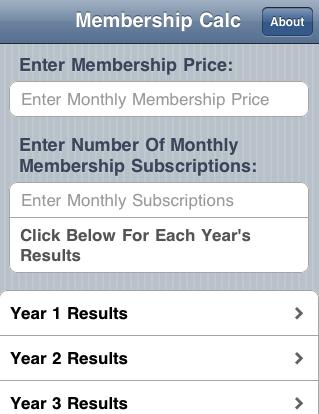 Membership Calc