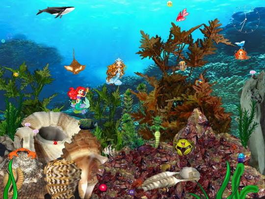 Mermaids Kingdom Screensaver