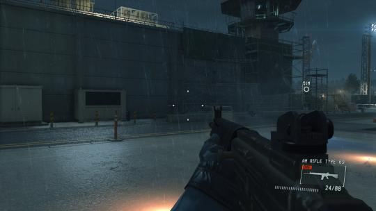 Metal Gear Solid V Ground Zeroes First Person Mod