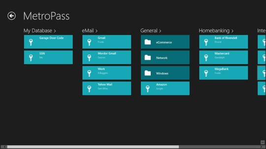 MetroPass for Windows 8