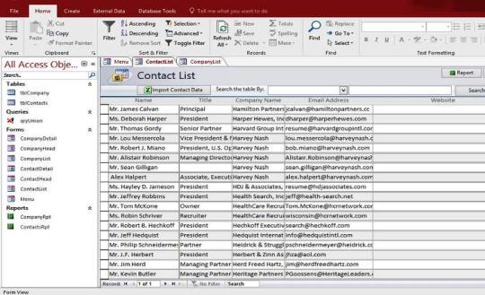 Microsoft Access Mortgage Loan Calculator