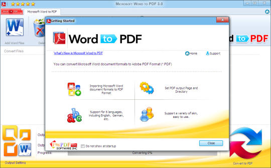 Microsoft Word to PDF