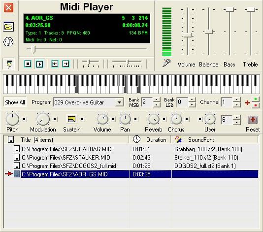 Midi Player