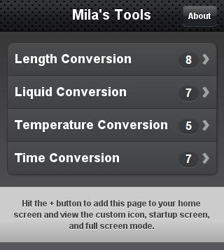 Mila's Tools