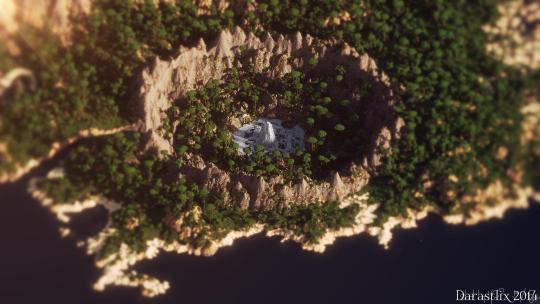 Minecraft Landscapes Full HD Wallpaper Pack