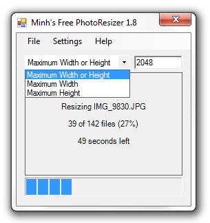 Minh's Free PhotoResizer