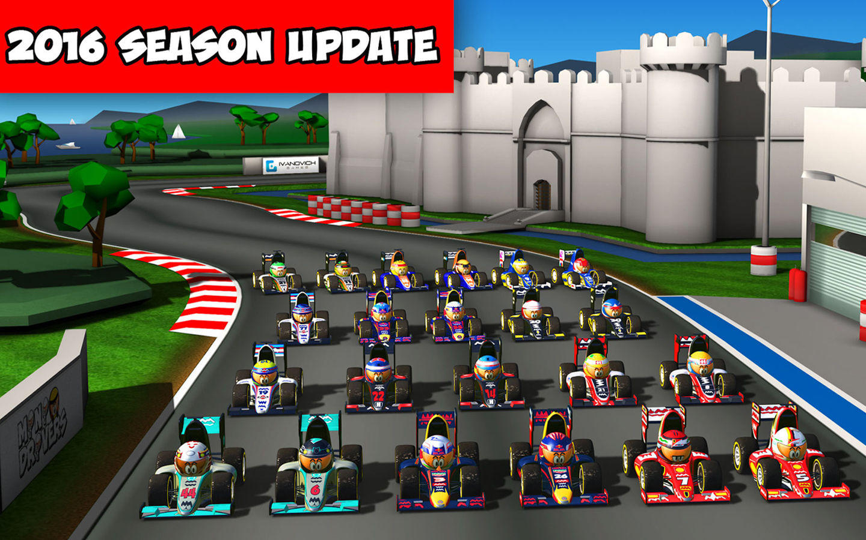 MiniDrivers: The game of mini racing cars