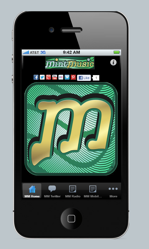 Mint Music Artist Mobile App