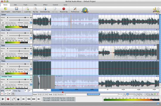 MixPad Multitrack Recorder