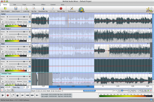MixPad Music Mixer Free