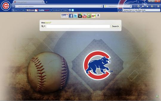 MLB Chicago Cubs Theme for Firefox