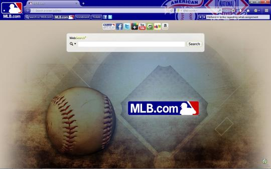 MLB.com Theme for Firefox