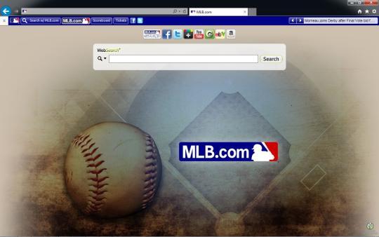 MLB.com Theme for Internet Explorer