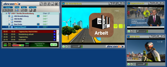 Mobile DTV Viewer for DVB