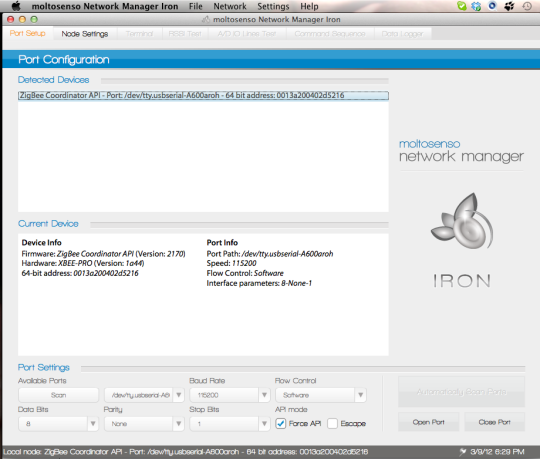 Moltosenso Network Manager Iron