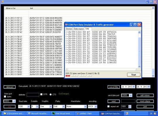 Monitoring COM Port