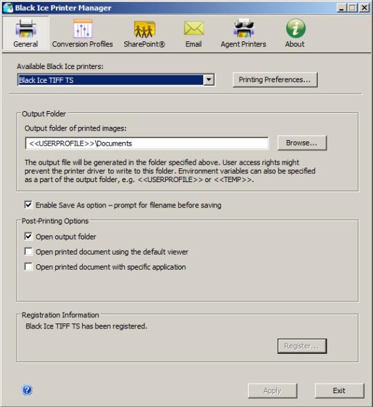 Monochrome Printer Driver for Windows Terminal Servers