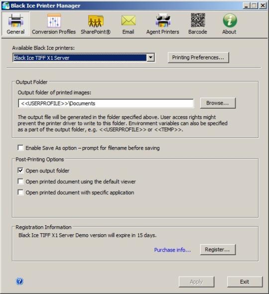 Monochrome X1 Printer Driver for Windows Terminal Servers