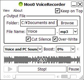 Moo0 Voice Recorder