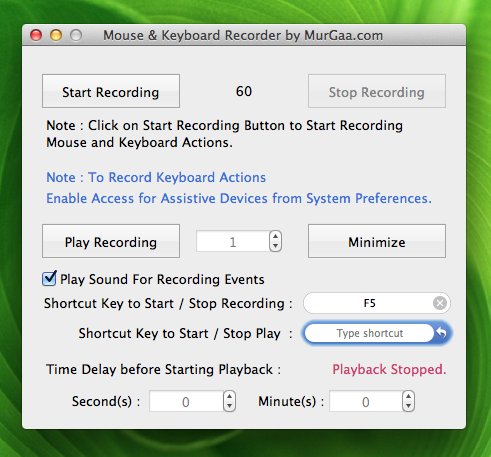 Mouse & Keyboard Recorder