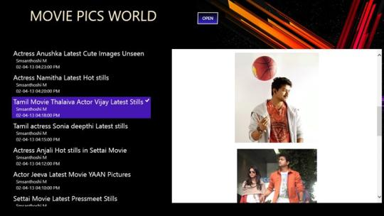Movie Pics Express for Windows 8