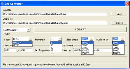MovieToolBox 3GP Converter