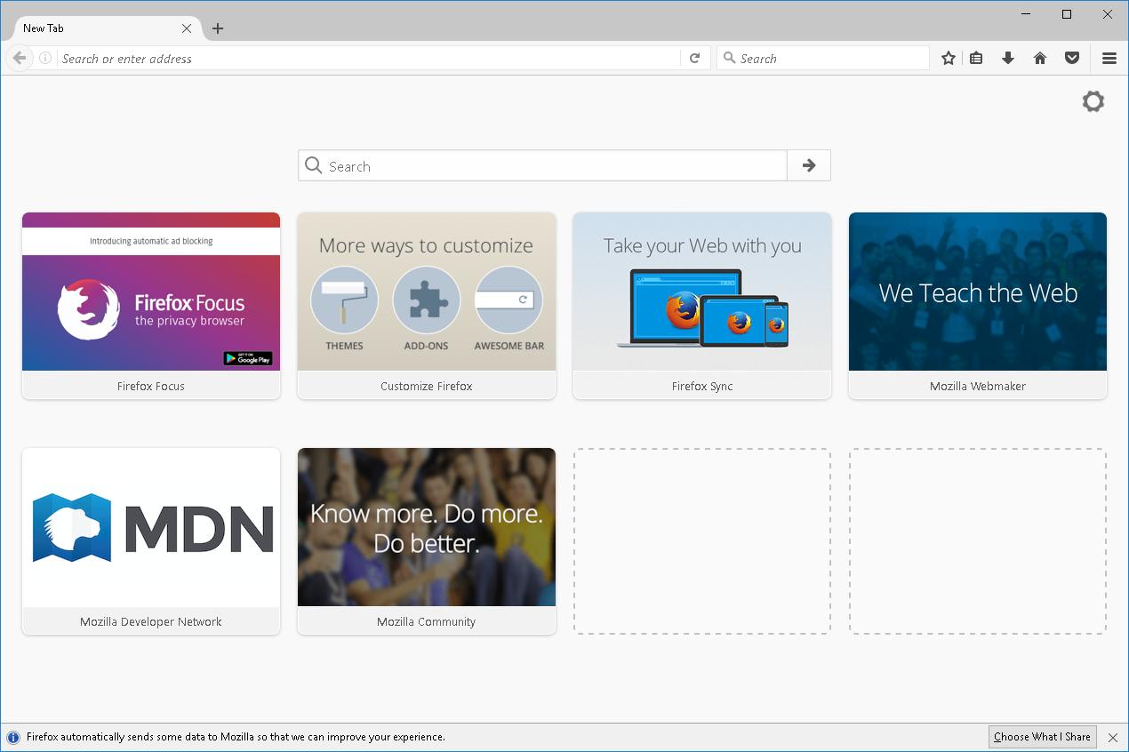 تحميل مجاني Mozilla Firefox إلى Windows XP ::: المتصفحات