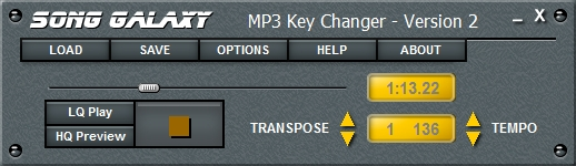 MP3 Key Changer