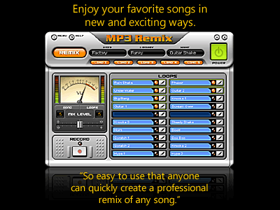 MP3 Remix for Windows Media Player