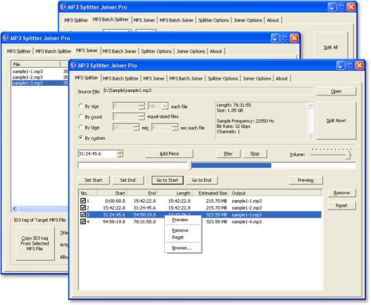 MP3 Splitter Joiner Pro