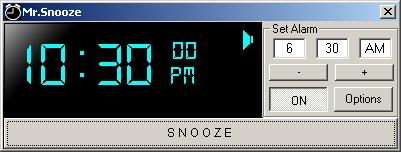 Mr.Snooze
